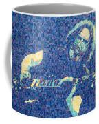Jerry Garcia Chuck Close Style Coffee Mug
