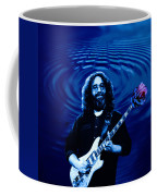 Blue Ripple Rose Coffee Mug