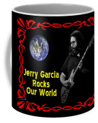J G  Rocks Our World Coffee Mug