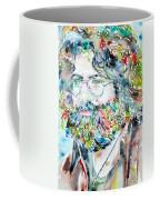 Jerry Garcia Watercolor Portrait.2 Coffee Mug
