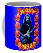 Jerry In Blue With Rose Frame Coffee Mug