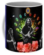 Jerry Spacepods Triple Jerry Ufo Roses Under Cosmic Sun Coffee Mug