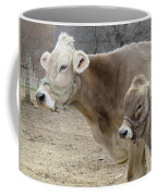 Jersey Cow And Calf Coffee Mug