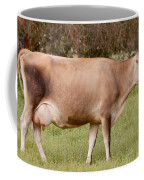 Jersey Cow In Pasture Coffee Mug