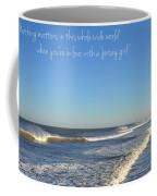 Jersey Girl Seaside Heights Quote Coffee Mug