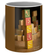 Jesus - Alphabet Blocks Coffee Mug