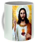 Jesus Big Heart Coffee Mug