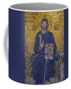 Jesus Christ Mosaic Coffee Mug