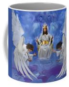 Jesus Enthroned Coffee Mug by Tamer and Cindy Elsharouni