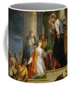 Jesus Healing The Woman With The Issue Of Blood Coffee Mug