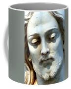 Jesus Statue Coffee Mug by David G Paul