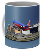 Jet Chicago Airplanes 12 Out Of Bounds Coffee Mug