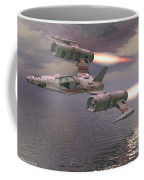 Jet Flying Low Coffee Mug