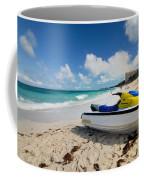 Jet Ski On The Beach At Atlantis Resort Coffee Mug