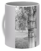 Jewel In The Woods In Black And White Coffee Mug