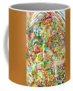 Jiddu Krishnamurti Watercolor Portrait.2 Coffee Mug