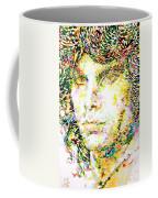 Jim Morrison Watercolor Portrait.2 Coffee Mug
