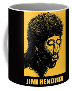 Jimi Hendrix Rock Music Poster Coffee Mug