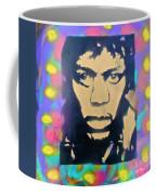 Jimi Hendrix Squared Coffee Mug