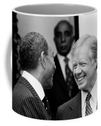 Jimmy Carter And Anwar Sadat 1980 Coffee Mug
