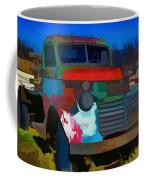 Jimmy In Taos - Abstract Coffee Mug