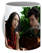 Joan Baez With Bob Dylan Coffee Mug