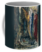 Job And The Angels Coffee Mug by Gustave Moreau