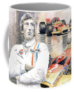 Jochen Rindt Golden Leaf Team Lotus Lotus 49b Lotus 49c Coffee Mug