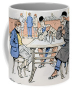 Jockey And Trainers In The Bar Coffee Mug