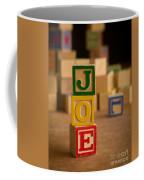 Joe - Alphabet Blocks Coffee Mug