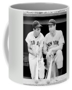Joe Dimaggio And Ted Williams Coffee Mug by Gianfranco Weiss