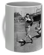 Joe Dimaggio Hits A Belter Coffee Mug by Gianfranco Weiss
