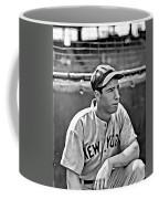 Joe Dimaggio Painting Coffee Mug