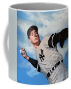 Joe Dimaggio Coffee Mug by Paul Meijering