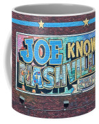 Joe Knows Nashville Coffee Mug