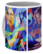 Joel And Andy Coffee Mug by Joshua Morton