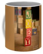 Joey - Alphabet Blocks Coffee Mug