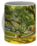 Jogging In City Park Coffee Mug