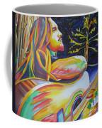 John Butler And Moon Coffee Mug by Joshua Morton