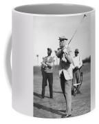 John D. Rockefeller Golfing Coffee Mug