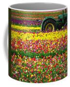 John Deere Tulips Coffee Mug