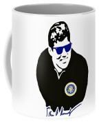 John F Kennedy Signature Wayfarer Coffee Mug by Jost Houk