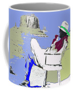John Ford The Searchers Set Monument Valley Arizona 1955-2010 Coffee Mug