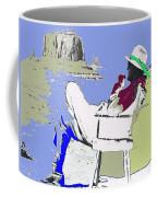 John Ford The Searchers Set Monument Valley Arizona 1955-2013 Coffee Mug