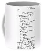 John Hancock Memorandum Coffee Mug