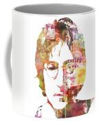 John Lennon Coffee Mug by Mike Maher