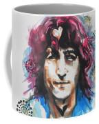 John Lennon..up Close Coffee Mug