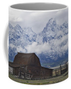John Moulton Barn Grand Teton National Park Wyoming Coffee Mug