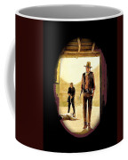 John Wayne And Jack Elam Publicity Photo Rio Lobo Old Tucson 1970-2012 Coffee Mug