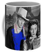 John Wayne Gail Russell Angel And The Badman  Publicity Photo 1947-2012 Coffee Mug